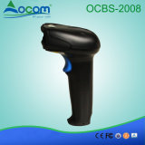Ocbs-2008-a Handheld Barcode Scanner for 1d/2D Barcode Scanner with Stand & Auto-Scan