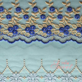 Multi Color Net Lace Fabric