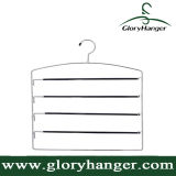 Chrome Collection Deluxe Slack Hanger, 4 Layer Pants/Tower Rack