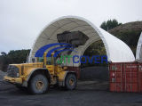 Outdoor Clear Span Steel Frame Tent for Container Storage (JIT-3320C)