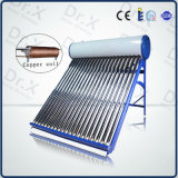 New Patent Copper Coil Pressure Solar Water Heater