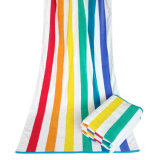 Manufacturer Customized Super Luxury Hotel Towel/Bath Towel/Face Towel/Hand Towel/Beach Towel with Strips