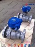 "ANSI/DIN/JIS 6"" 600lb Cast Steel Worm Gear Trunnion Ball Valve"