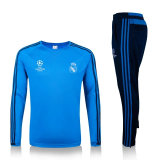 2016 European Champion Tracksuit Football Uniform Real Madrid Training Suits