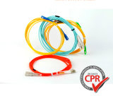Fiber Optic Patch Cord MTP/MPO/LC/Sc/St/FC Single/Multi Mode Simplex/Duplex Fiber Optic/Optical Patchcord