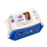 100% Pure Water and Gentle 80PCS Baby Wipes for Face