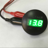 New Display Vehicle Voltage Meter & Thermometer Temperature Display Table