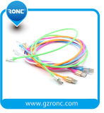 Wholesale Rubber 1m USB Data Cable for Apple / Android