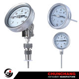 Dial 100mm Bimetal Thermometer