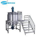 Jinzong Machinery Electric Heating Vacuum Emulsifying Mixer Homogenizer Machine
