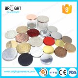 Custom Colored Stylish Metal Lid Candle Covers