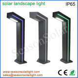 High Lumen Lighting Fixture Outdoor Lamp Pathway Lighting Solar Garden Lamp with LED Strip & 6W Solar Panel