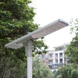 Outdoor IP66 All in One/ Integrated LED Solar Street Light with Motion Sensor with Li-ion or LiFePO4 Battery