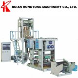 Hot Sale Single Dual Alloy Screw Rotary Die Head HDPE LDPE LLDPE PE Blown Plastic Film Blowing Extrusion Machine Production Line with Gravure Printing Machine