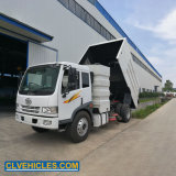 China FAW 4X2 170HP Street Cleaner Truck Sweeper Truck Vacuum Road Sweeper