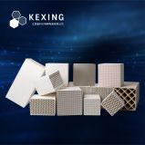 Alumina/Cordierite/Mullite/Corundum Heat Exchanger Honeycomb Ceramic Monolith for Rto or Rco