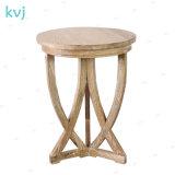 Kvj-7392 Antique Vintage Reclaimed Wood Sofa Side Table