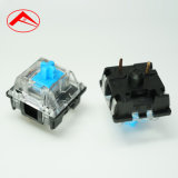 Overseas Popular Mechanical Keyboard Green Axis Switch Black Bottom Transparent Cover Green Axis RGB Axis