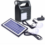 Portable Solar lantern Home Solar Power System Free Popular Music MP3 Player Bluetooth Speaker Mobile Charging Functions