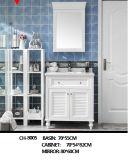 Wholesale Modern American Solid Wood Floor Floating Bathroom Vanity Cabinet