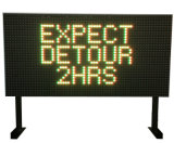 Solar Powered Batteries Rechargeable LED Traffice Sign Roadway Safety Stop Traffic Warning Signage Panel