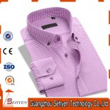 New Arrival Long Sleeve Cotton Formal Dress Shirt for Men
