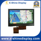 "7"" TFT custom LCD screens in car LCD Displays with Resistive Touch"