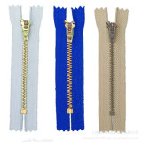 Brass Zipper Close-End Yg Slider, Good Quality with Stock Prices