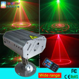 Newest Design Wide Range 12 Patterns Mini Multifunction Disco Stage Laser Light with Remote Control