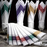 Wholesale High Quality 100% Cotton Stripe Hotel Restaurant Kitchen Towel