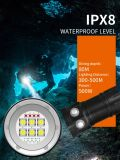 New! LED Diving Flashlight IP68 High Power