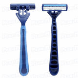 Triple Blade Non-Disposable Razor for Men