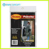 Cheap Disposable Poncho PE Rain Poncho (Rpe-076)