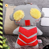 Reflective Plush Ultraman Toys with CE En13356/Reflective Hanger for Safety/Bag Reflective Hanger