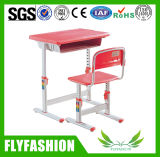 High Quality Classroom Furniture Adjustable Single Desk and Chair (SF-13S2)
