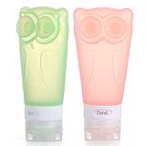 Owl-Shaped Airline Tsa Travel Tube Silicone Travel Bottle Set