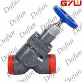 Refrigeration Cast Global Steel Stop Check Valve with Handwheel
