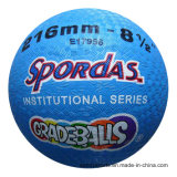 OEM Logo 8.5 Inch Rubber Playground Ball
