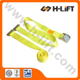 "2"" Logistic Tie Down Straps with E Track and Cam Buckle"