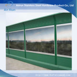 Sound Barrier for Soundproof / Highway Soundproof Barrier / Clear Sound Barrier