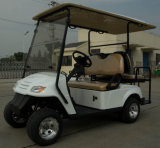 Four Seats Electric Golf Car; Two Rear Fixed Facing Seats