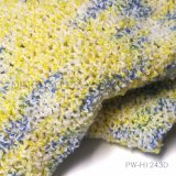 Boucle Yarn with Space Dyed Color in Acrylic/Polyester
