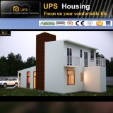 Modern Design Beautiful Two Floor Earthquake-Proof Prefabricated House with Decorations