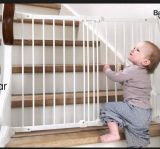 Folding Fence Gate En Certificatemetal Material Baby Safety Gate