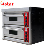 Wholesale Price 2 Deck 2 Tray Professional Electric Bread Pizza Oven