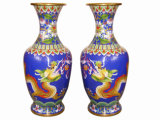 Enamel Pot, Dragon Design (JW022)