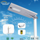 IP68 5W-120W Integrated LED Solar Street Sensor Light with Remote Control for Garden (HXXY-ISSL-5-120)
