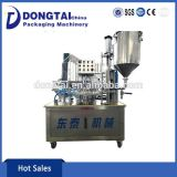 Manufacturer Price Automatic Plastic Cup Filling Sealing Machine for Milk