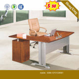 Cheap Price MFC Wooden Mahogany Color Office Table (HX-5N014)