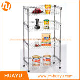 Adjustable Steel Metal Rack Commercial Shelf 4 Tier Storage Wire Shelving